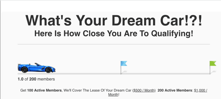 ClickFunnels Dream Car Affiliate Contest