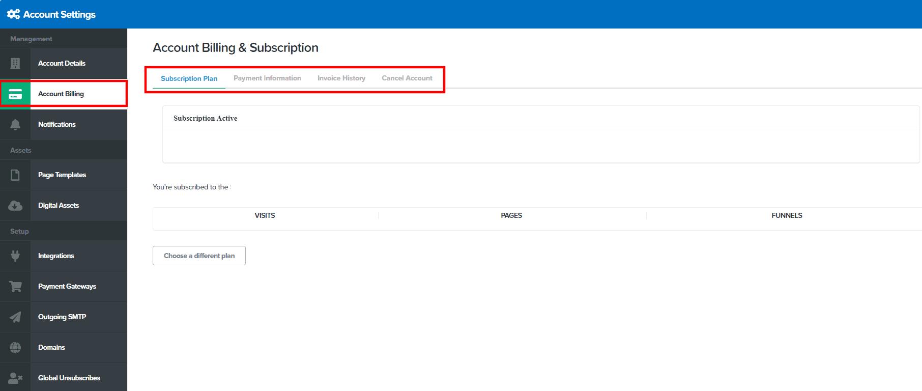 ClickFunnels Support Billing