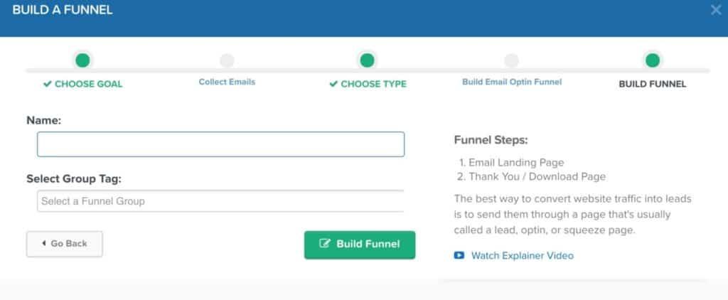 Clickfunnels Landing Page Builder