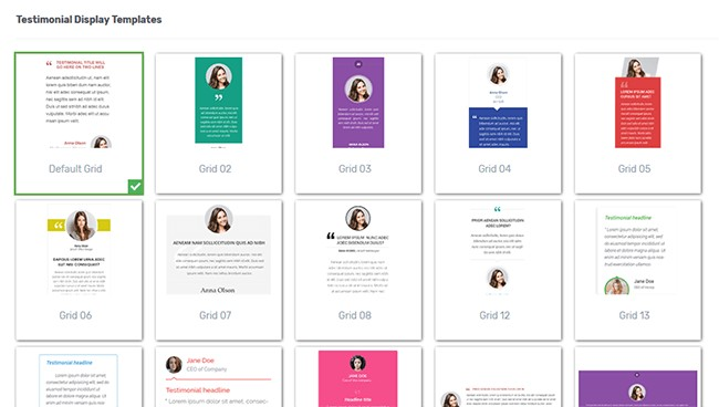 Thrive Ovation Templates