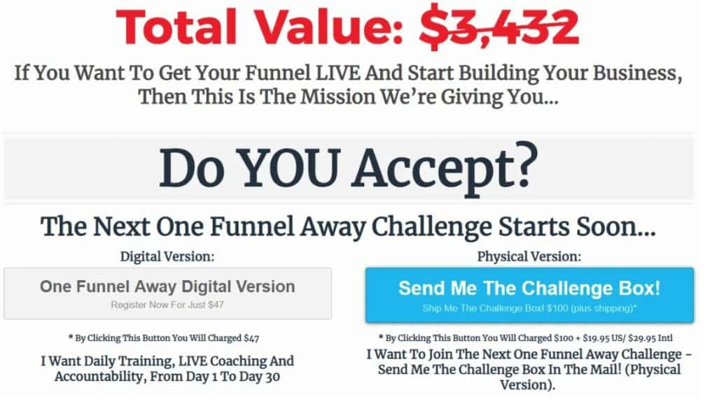 Lead Funnels Downsell