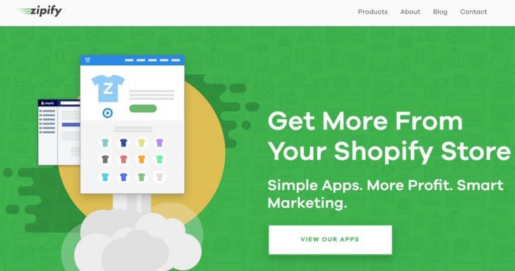 Zipify Homepage
